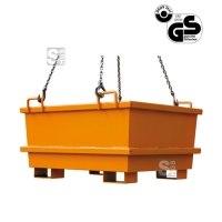 Universal-Container -U2031- mit Kranösen und Staplertaschen, 300 - 1000 Liter, ineinander stapelbar