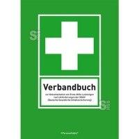 Verbandbuch mit vorgedruckten Spalten, DIN A5 oder DIN A4