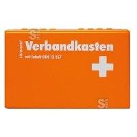 Verbandkasten -Kiel KU-, Inhalt nach DIN 13157, 260 x 160 x 80 mm, wahlweise mit Wandhalterung