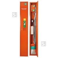 Verbandschrank -Safe- aus Stahlblech, wahlweise mit Inhalt, 300 x 2000 x 200 mm