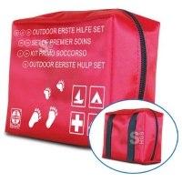 Verbandtasche -Outdoor- aus Nylon, mit Füllung, 150 x 120 x 55 mm