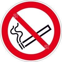 Verbotsschild, Rauchen verboten
