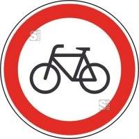 Verkehrsschild, Verbot für Radfahrer