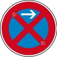 Verkehrszeichen StVO, Absolutes Haltverbot Anfang (Linksaufstellung), Nr. 283-21