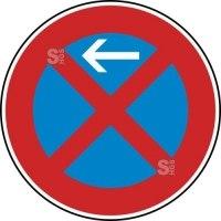Verkehrszeichen StVO, Absolutes Haltverbot Anfang (Rechtsaufstellung), Nr. 283-10
