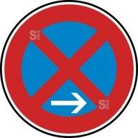 Verkehrszeichen StVO, Absolutes Haltverbot Ende (Rechtsaufstellung) Nr. 283-20