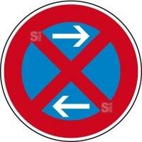 Verkehrszeichen StVO, Absolutes Haltverbot Mitte (Linksaufstellung), Nr. 283-31