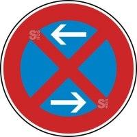 Verkehrszeichen StVO, Absolutes Haltverbot Mitte (Rechtsaufstellung), Nr. 283-30