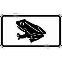 Verkehrszeichen StVO, Amphibienwanderung Nr. 1007-33
