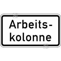 Verkehrszeichen StVO, Arbeitskolonne Nr. 2123