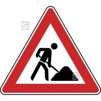 Verkehrszeichen StVO, Arbeitsstelle Nr. 123