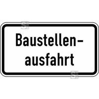 Verkehrszeichen StVO, Baustellenausfahrt Nr. 1007-33