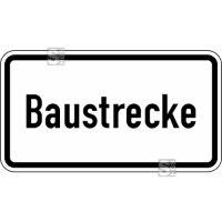 Verkehrszeichen StVO, Baustrecke Nr. 2134