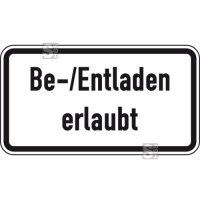 Verkehrszeichen StVO, Be- und Entladen erlaubt, Nr. 1053-37