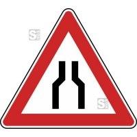Verkehrszeichen StVO, Beidseitig verengte Fahrbahn Nr. 120