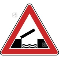 Verkehrszeichen StVO, Bewegliche Brücke Nr. 101-55