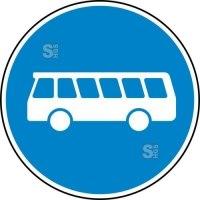 Verkehrszeichen StVO, Bussonderfahrstreifen Nr. 245
