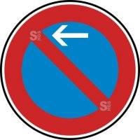 Verkehrszeichen StVO, Eingeschränktes Haltverbot Anfang (Rechtsaufstellung) Nr. 286-10
