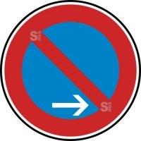 Verkehrszeichen StVO, Eingeschränktes Haltverbot Ende (Rechtsaufstellung) Nr. 286-20