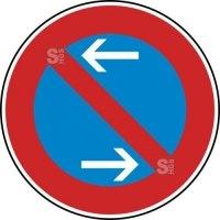 Verkehrszeichen StVO, Eingeschränktes Haltverbot Mitte (Rechtsaufstellung) Nr. 286-30