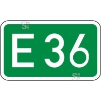 Verkehrszeichen StVO, Europastraßen Nr. 410