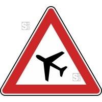 Verkehrszeichen StVO, Flugbetrieb, Aufstellung rechts Nr. 145-11
