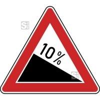 Verkehrszeichen StVO, Gefälle Nr. 108-