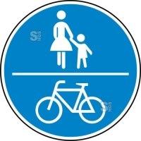 Verkehrszeichen StVO, Gemeinsamer Geh- und Radweg Nr. 240