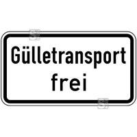Verkehrszeichen StVO, Gülletransport frei Nr. 1026-62