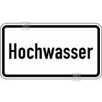 Verkehrszeichen StVO, Hochwasser Nr. 2013