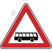 Verkehrszeichen StVO, Kraftomnibusse, Aufstellung rechts Nr. 145-10