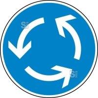 Verkehrszeichen StVO, Kreisverkehr Nr. 215