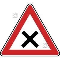 Verkehrszeichen StVO, Kreuzung oder Einmündung Nr. 102