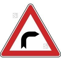 Verkehrszeichen StVO, Kurve (rechts) Nr. 103-20