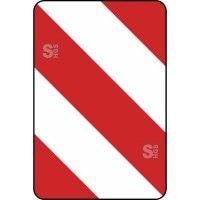 Verkehrszeichen StVO, Leitplatte, Aufstellung links Nr. 626-20