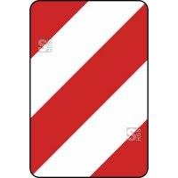 Verkehrszeichen StVO, Leitplatte, Aufstellung rechts Nr. 626-10