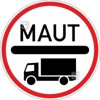 Verkehrszeichen StVO, Mautpflicht nach BFStrMG Nr. 390