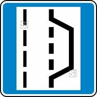 Verkehrszeichen StVO, Nothalte- und Pannenbucht Nr. 328