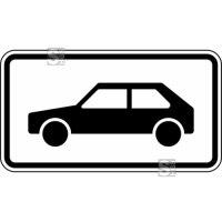 Verkehrszeichen StVO, Nur Personenkraftwagen Nr. 1048-10