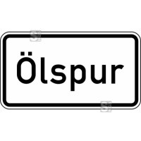 Verkehrszeichen StVO, Ölspur Nr. 1006-30