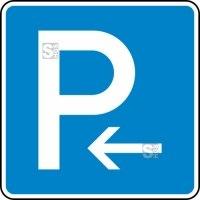 Verkehrszeichen StVO, Parken Anfang (Rechts-) oder Ende (Linksaufstellung) Nr. 314-10