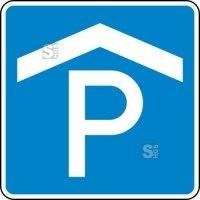 Verkehrszeichen StVO, Parkhaus, Parkgarage Nr. 314-50
