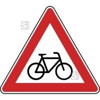 Verkehrszeichen StVO, Radverkehr, Aufstellung links Nr. 138-20