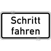 Verkehrszeichen StVO, Schritt fahren Nr. 2101