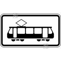 Verkehrszeichen StVO, Straßenbahn Nr. 1010-56