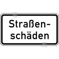 Verkehrszeichen StVO, Straßenschäden Nr. 1007-34