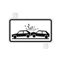 Verkehrszeichen StVO, Unfallgefahr Nr. 1006-31