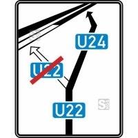 Verkehrszeichen StVO, Weiterführende Bedarfsumleitungstafel Nr. 466