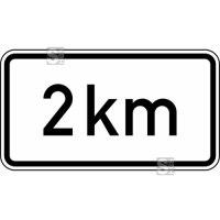 Verkehrszeichen StVO, in 2 km Nr. 1004-35