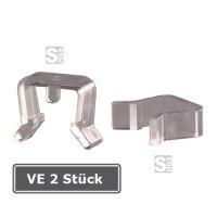 Verschlussclips für Kunststoffrahmen, VE 2 Stück